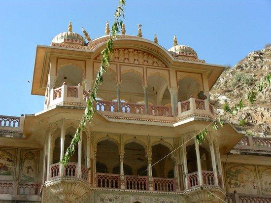 Galtaji Temple: Un particolare