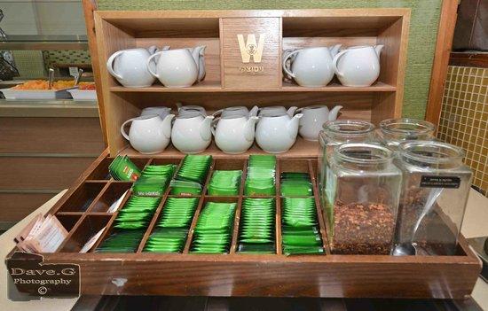 Dan Panorama Eilat : breakfast tea selection