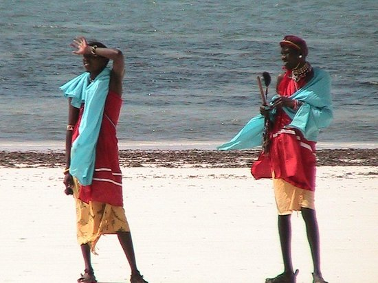 Diani Sea Lodge: area spiaggia