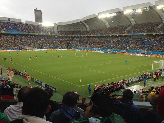Jogo México e Camarões - Arena das Dunas Copa FIFA 2014