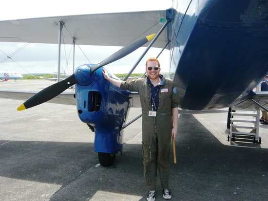 Classic Air Force: Andy - Our very capable pilot
