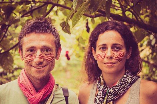 Comunidad Shiripuno : Un maquillage indigène en plein milieu de l'Amazonie