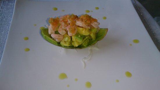 Next Paradise Boutique Resort : Shrimp Avocado