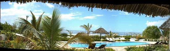 Next Paradise Boutique Resort : View from our room (A1)