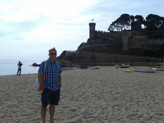 Golden Bahia de Tossa : coté chateau