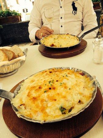 Hauser Restaurant: Rosti is wonderful