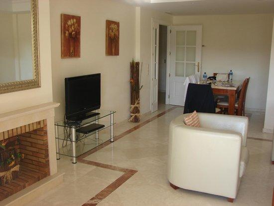 Colina Del Paraiso: Sitting room