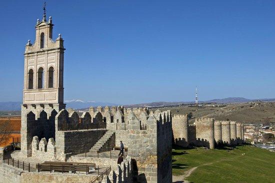 Parador de Ávila: Detalle muralla