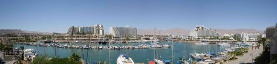 Dan Panorama Eilat : room view from 1st floor room ( even number )
