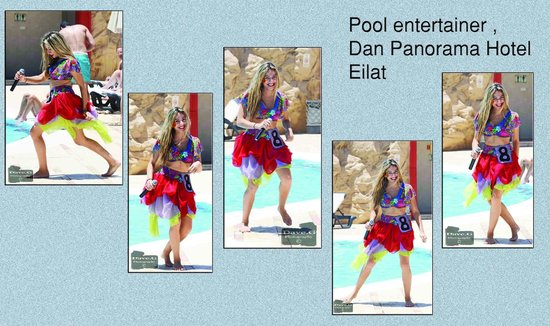 Dan Panorama Eilat : pool-side entertainer