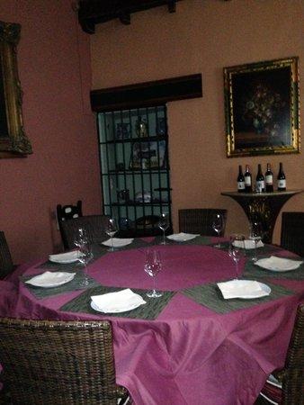 Hotel Casa del Pilar: Salon privado para 10 comensales