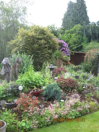 St Ann's House: ...und der Garten