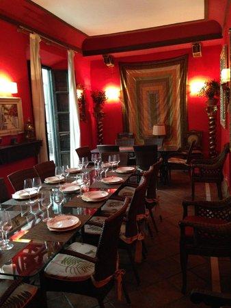 Casa Palacio Pilar del Toro Hotel: Salon para 25 personas