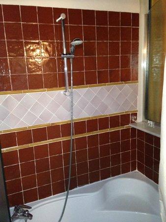 Hotel Casa del Pilar: Baño de la Suite Mirador