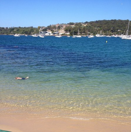 Balmoral: Quiet beach, nice to have a walk.