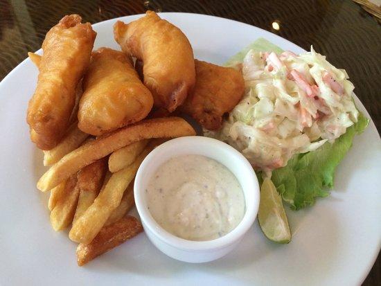 Crocodile Rock Pizza & Grill Restaurant : Fish n Chip