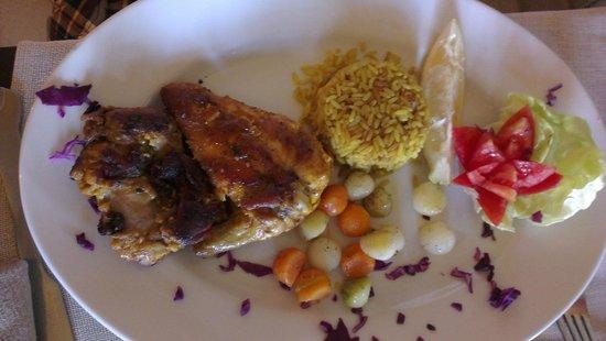 Al Kalaa Restaurant : Djej mechoui