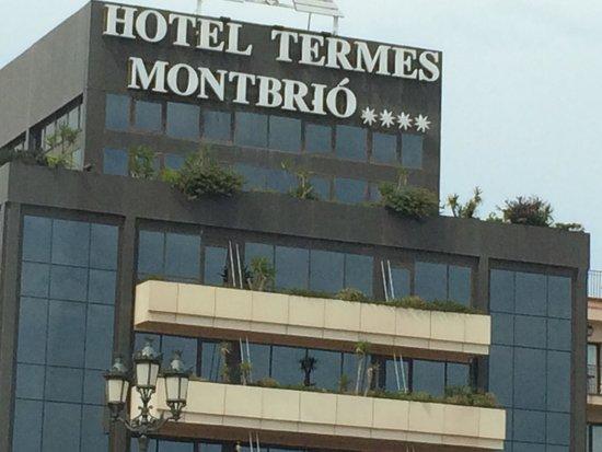 Hotel Termes de Montbrio - Resort Spa & Park : SUCIEDAD FACHADA