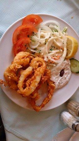 El Greco : Calamari set lunch