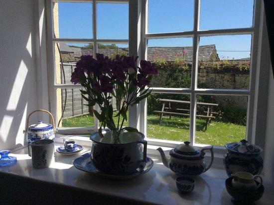 West Titchberry Farm Guest House: Guest lounge