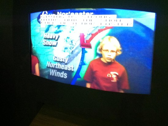 The Franklin Institute : Weather broadcast..