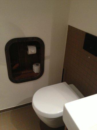 25hours Hotel HafenCity: Toilette