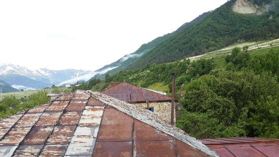 Hotel VillaMestia : from our window