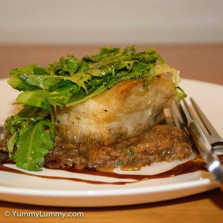 Rydges Camperdown Sydney: Pork belly