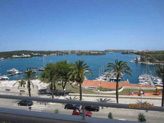 Hotel Port Mahon: View from room 208