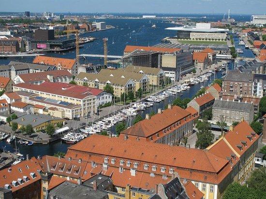 Église de Notre-Sauveur : Copenhagen view from Our Saviour's Chuch