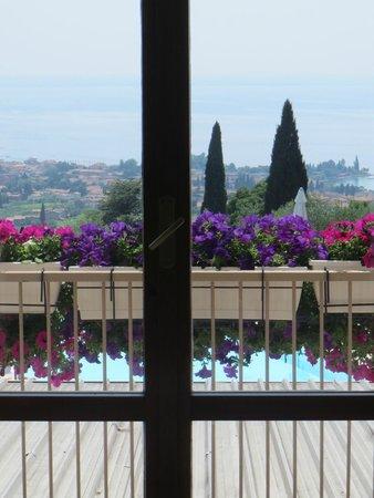Albergo Valbella: Blick aus dem Zimmer