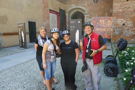 Italy Segway Tours: The group and our leader