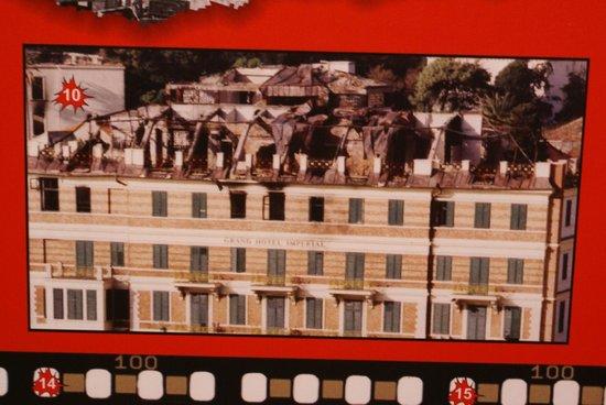Hilton Imperial Dubrovnik: Hotel damage during 1991 war