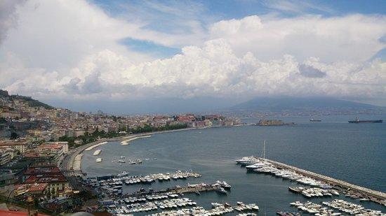 BEST WESTERN Hotel Paradiso : Il golfo di napoli visto dal balconcino
