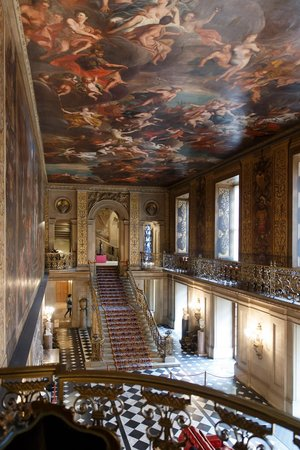 Chatsworth House: Grand Staircase and Hall