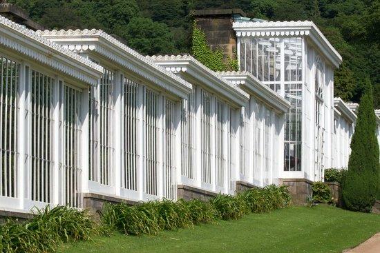 Chatsworth house greenhouse