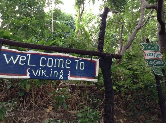 Viking Natures Resort: from here, it's about a 5 minute walk to reception