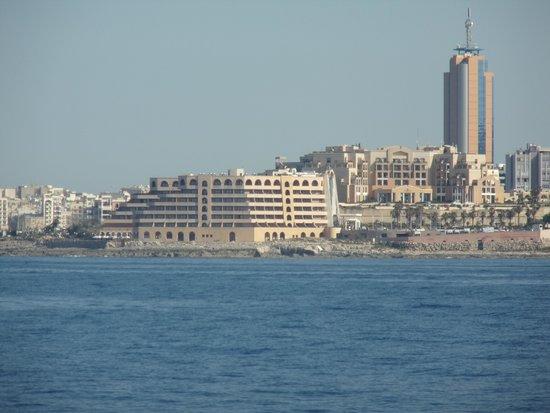 Radisson Blu Resort, Malta St Julian's: Radisson from boat
