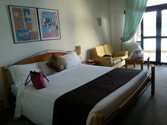 Resorts World Langkawi: a wonderful room,spacious and with a comfortable sofa