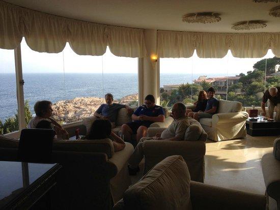 Hotel Eden Roc: Salle de Réception et Bar Dali avec vue sur mer