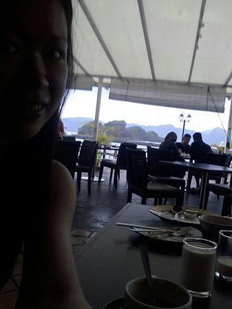 Resorts World Langkawi: nice view while enjoying the breakfast