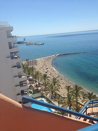 Princesa Playa Hotel Apartamentos: View from the roof top pool :-)