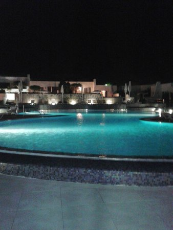 Nautilus Lanzarote: Piscina di notte