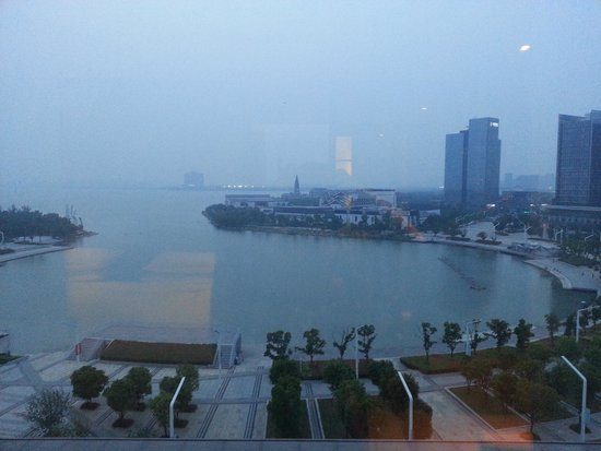 Four Points by Sheraton Suzhou: view from our suite.