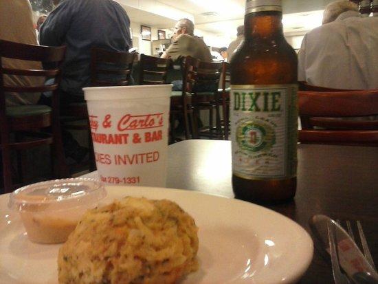Rocky & Carlo's Restaurant : Seating Near Bar