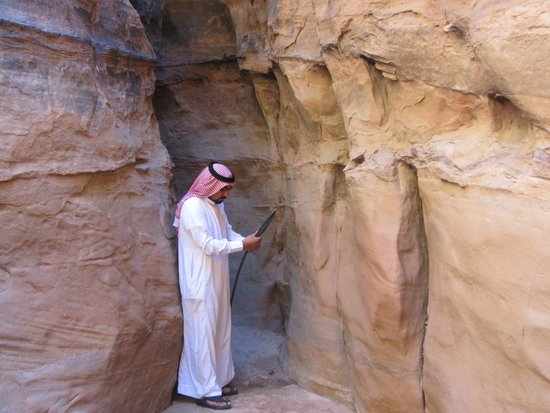 Obeid's Bedouin Life Camp : Image taken during our Jeep tour