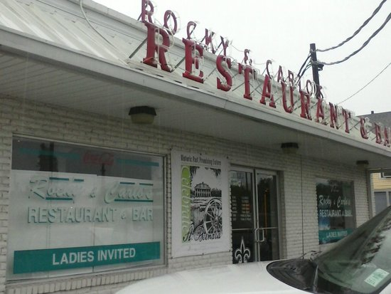 Rocky & Carlo's Restaurant : Front View