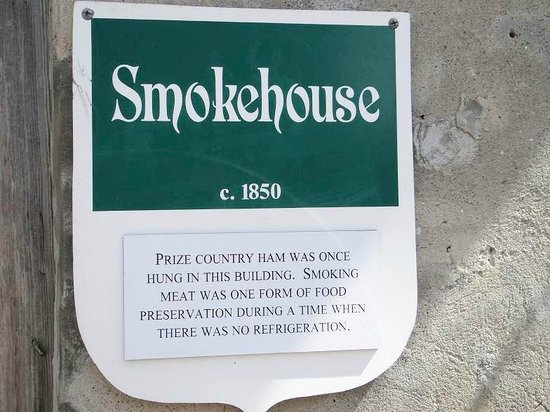 Poplar Grove Plantation: sign