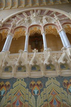 Recinto Modernista de Sant Pau (Recinte Modernista de Sant Pau): Administration building