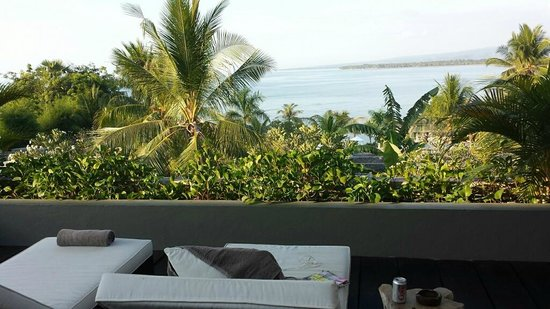 The Lombok Lodge : View from the terrace